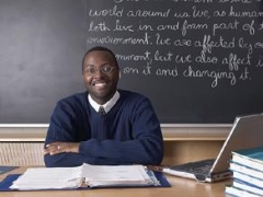 Essay by a teacher that taught in a black high school